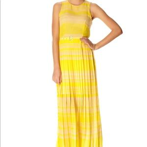 French Connection Yellow Maxi